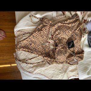 Zaful cheetah bikini